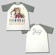 【中古】Tシャツ(キャラクター) 南ことりver. ローソンオリジナルTシャツ フリーサイズ グレー×ホワイト 「キリンビバレッジ×ラブライブ!×ローソン」 レシートIDキャンペーン Cコース