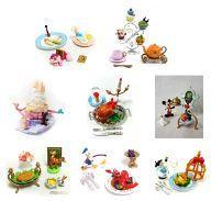【中古】食玩 トレーディングフィギュア 全8種セット 「ディズニーキャラクター 夢と魔法のレストラン」