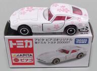【中古】ミニカー 1/59 トヨタ 2000GT 春トミカ(ホワイト×ピンク) 「トミカ」 アピタ・ピアゴ限定