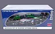 【中古】ミニカー 1/18 D`station ADVAN GT-R SUPER GT500 2015 Rd.4 Fuji Winner #24 [81040]