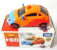 【中古】ミニカー コロット パンプキンオレンジ スティッチ 「トミカ ディズニーモータース」 販売店特別仕様車