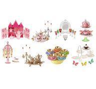 【中古】食玩 トレーディングフィギュア 全8種セット 「ぷちサンプルシリーズ プリンセスティーパーティー」【タイムセール】