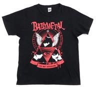 【中古】Tシャツ(女性アイドル) BABYMETAL 記念Tシャツ ブラック Lサイズ 「BABYMETAL DEATH MATCH TOUR 2013 -五月革命-」