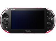 【中古】PSVITAハード PlayStaiton Vita本体 Wi-Fiモデル ピンク・ブラック[PCH-2000] (本体単品/付属品無) (箱説なし)