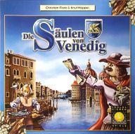 【中古】ボードゲーム ヴェネチアの柱 (Die Saulen von Venedig) [日本語訳付き]