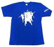 【中古】Tシャツ(女性アイドル) 早見あかり(ももいろクローバー) 桜咲く!メッセージTシャツ Lサイズ ブルー 「4.10 中野サンプラザ大会 ももクロ春の一大事 ~眩しさの中に君がいた~」