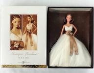 【中古】ドール Monique Lhuillier-モニーク・リュイリエー- ブライド バービー 「Barbie-バービー-」 バービーコレクター ゴールドラベル