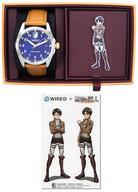 【エントリーで全品ポイント10倍!(9月1日0959まで)】【中古】腕時計・懐中時計(キャラクター) エレン・イェーガー シグネチャーモデル コラボレーションウオッチ(腕時計) 「WIRED×進撃の巨人」