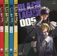 【中古】アニメDVD OVA BLACK LAGOON Roberta's Blood Trail 単巻全5巻セット