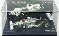 【中古】ミニカー 1/43 Williams FW07B 1980 Leyland #27(ホワイト×グリーン) [430800027]