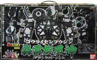 【中古】おもちゃ DX超合金 GD-49 轟雷旋風神 ブラックバージョン 「忍風戦隊ハリケンジャー」【タイムセール】