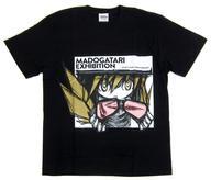 【中古】Tシャツ(キャラクター) B.忍野忍 ウエダハジメTシャツ ブラック フリーサイズ 「<物語>シリーズ」 MADOGATARI展グッズ
