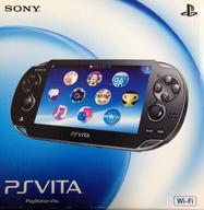 【中古】PSVITAハード PlayStation Vita本体<<Wi-Fiモデル>>(クリスタル・ブラック)[PCH-1000 ZA01](状態:USBケーブル欠品)
