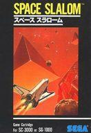 【中古】セガSG1000ソフト スペーススラローム(SPACE SLALOM)(状態:箱(内箱含む)状態難)