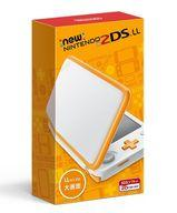 【新品】ニンテンドー3DSハード Newニンテンドー2DS LL本体 ホワイト×オレンジ