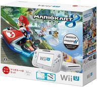 【中古】WiiUハード WiiU本体 マリオカート8セット shiro (状態:Wii U GamePad ACアダプター欠品)