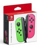 【新品】ニンテンドースイッチハード Nintendo Switchコントローラー Joy-Con(L) ネオングリーン/(R) ネオンピンク