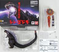【中古】フィギュア S.H.MonsterArts ゴジラ(2016) 第4形態覚醒Ver. 「シン・ゴジラ」 魂ウェブ商店限定
