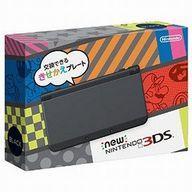 【中古】ニンテンドー3DSハード Newニンテンドー3DS本体 ブラック(状態:microSDHCメモリーカード欠品)