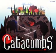 【エントリーでポイント10倍!(9月11日01:59まで!)】【中古】ボードゲーム [ランクB/日本語訳無し] カタコンベ (Catacombs)