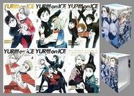 【中古】アニメDVD ユーリ!!! on ICE 初回版 全6巻セット(アニメイト全巻収納BOX付き)