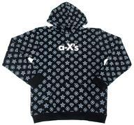 【新品】アウターウェア(男性アイドル) α-X's(アクロス) パーカー ブラック Mサイズ