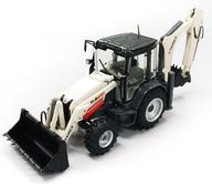 【中古】ミニカー 1/50 TEREX TLB890 バックホーローダー インナーサイド ショベル(ホワイト×グレー) [915]【タイムセール】