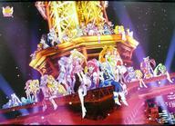 【中古】タペストリー プリキュアいっぱい☆メモリーver. 特大タペストリー 「映画 プリキュアオールスターズNewStage3 永遠のともだち」