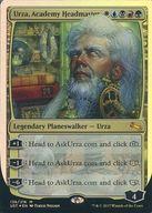 【中古】マジックザギャザリング/英語版FOIL/神話R/Unstable/マルチカラー [神話R] : 【FOIL】Urza, Academy Headmaster/アカデミーの頭、ウルザ