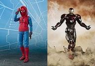 【中古】フィギュア S.H.Figuarts スパイダーマン(ホームカミング) ホームメイドスーツver. &アイアンマン マーク47 「スパイダーマン:ホームカミング」 魂ウェブ商店限定