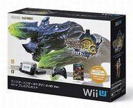 【中古】WiiUハード WiiU プレミアムセット モンスターハンター3G HDver(状態:ワイヤレスProコントローラー充電ケーブル欠品)