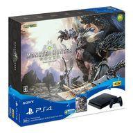 【中古】PS4ハード プレイステーション4本体 MONSTER HUNTER: WORLD Starter Pack ブラック(HDD 500GB)