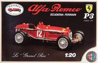 【中古】プラモデル 1/20 Alfa Romeo P3 1932-35 SCUDERIA FERRARI [75102/P]