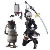 【中古】フィギュア BRING ARTS 2B&機械生命体セット(2体セット) 「NieR:Automata(ニーア オートマタ)」