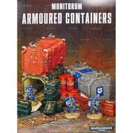 【中古】ミニチュアゲーム ミュニトラム アーマード・コンテナ 「ウォーハンマー40.000」 (Munitorum Armoured Containers) [64-98]