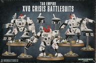 """【中古】ミニチュアゲーム タウ・エンパイア XV8 """"クライシス"""" バトルスーツ 「ウォーハンマー40.000/タウ・エンパイア」 (Tau Empire: XV8 Crisis Battlesuit) [56-07]"""