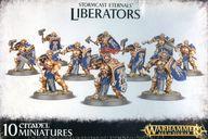 【新品】ミニチュアゲーム ストームキャスト・エターナル リベレイター 「ウォーハンマー エイジ・オヴ・シグマー/ストームキャスト・エターナル」 (Stormcast Eternals: Liberators) [96-10]【タイムセール】