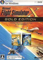 【中古】WindowsXP/Vista DVDソフト Flight Simulator X GOLD EDITION[日本語版]