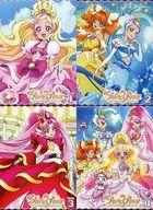 【中古】アニメBlu-ray Disc Go!プリンセスプリキュア 初回版 全4巻セット