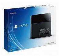 【中古】PS4ハード プレイステーション4本体 ジェットブラック(HDD 500GB/CUH-1100AB01) (状態:本体状態難)