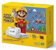 【中古】WiiUハード WiiU本体 スーパーマリオメーカーセット(状態:縦置きスタンド欠品)