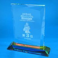 【中古】小物(女性) [特典付き] 松井珠理奈(SKE48)/3位 個別レプリカトロフィー 「AKB48 49thシングル選抜総選挙~まずは戦おう!話はそれからだ~」 AKB48グループショップ予約限定