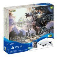 【中古】PS4ハード プレイステーション4本体 MONSTER HUNTER: WORLD Starter Pack ホワイト(HDD 500GB)