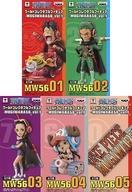 【中古】フィギュア 全5種セット 「ワンピース」 ワールドコレクタブルフィギュア-MUGIWARA56-Vol.1