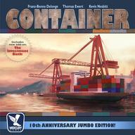 【エントリーでポイント10倍!(9月11日01:59まで!)】【中古】ボードゲーム コンテナ:10周年記念版 (Container:10th Anniversary Jumbo Edition!) [日本語訳付き]