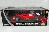【中古】ミニカー 1/18 フェラーリ F2001 ハンガリーGP M.シューマッハ(レッド) 「Hot WHeeLS エリートシリーズ」 [N2075]
