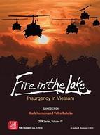 【中古】シミュレーションゲーム [日本語訳無し] ファイヤーイン・ザ・レイク (Fire in the Lake)