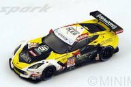 【中古】ミニカー 1/18 Chevrolet Corvette C7R LMGTE Am G.Roda - P.Ruberti - K.Poulsen #50 [18S202]