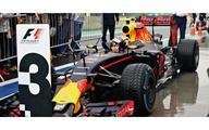 【中古】ミニカー 1/18 レッドブル レーシング タグホイヤー RB12 マックス・フェルスタッペン ブラジルGP 3位入賞 2016 [117161233]