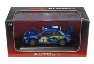 【中古】ミニカー 1/64 SUBARU NEW AGE IMPREZA WRC 2003 MOTUL #7(ブルー) [28021]